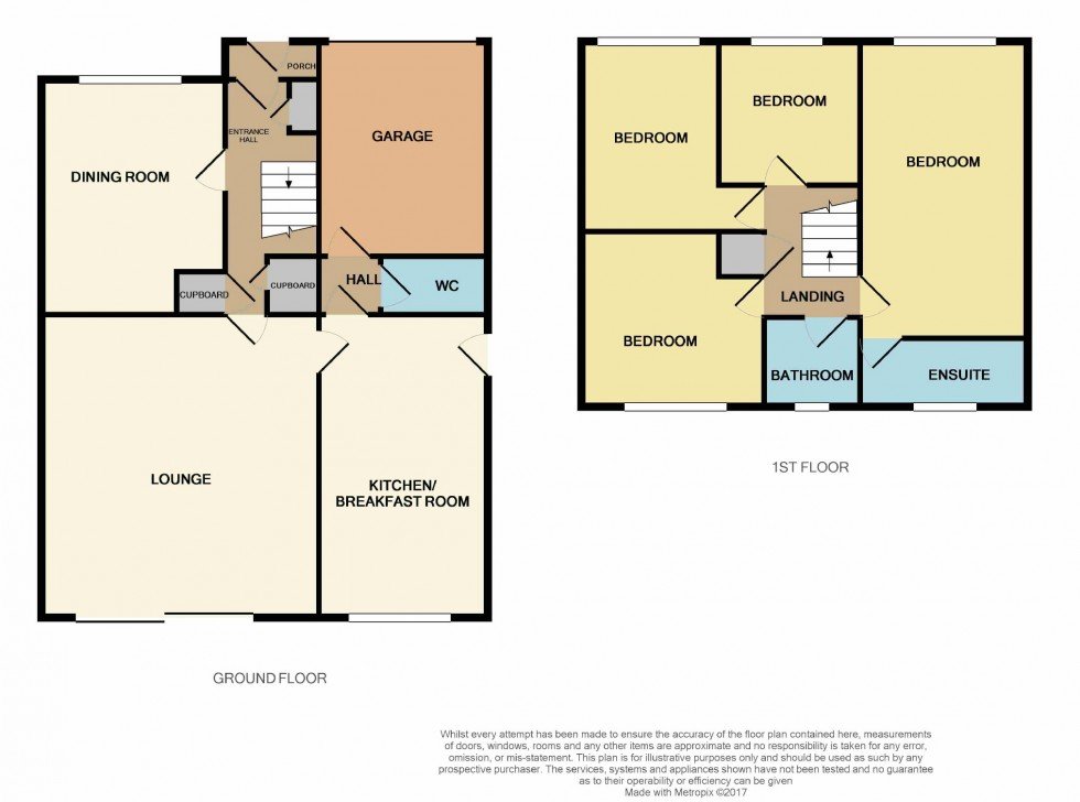Floorplan for Telham Close, Hastings, East Sussex