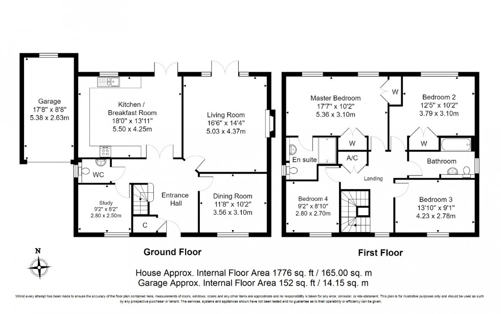 Floorplan for Woodlands Way, Hastings, East Sussex