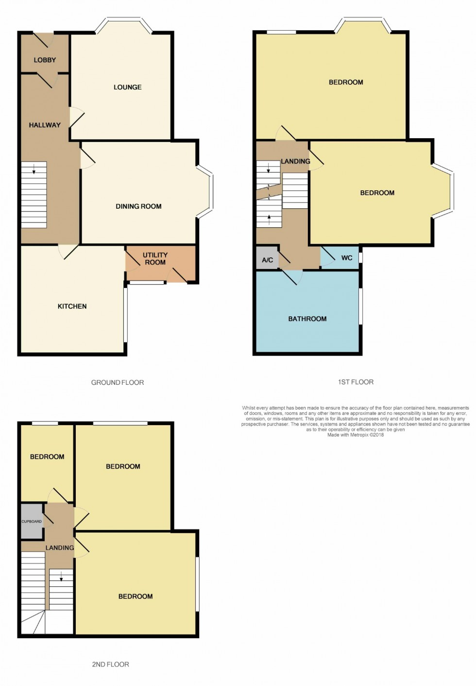 Floorplan for Princes Road, St Leonards-on-sea, East Sussex