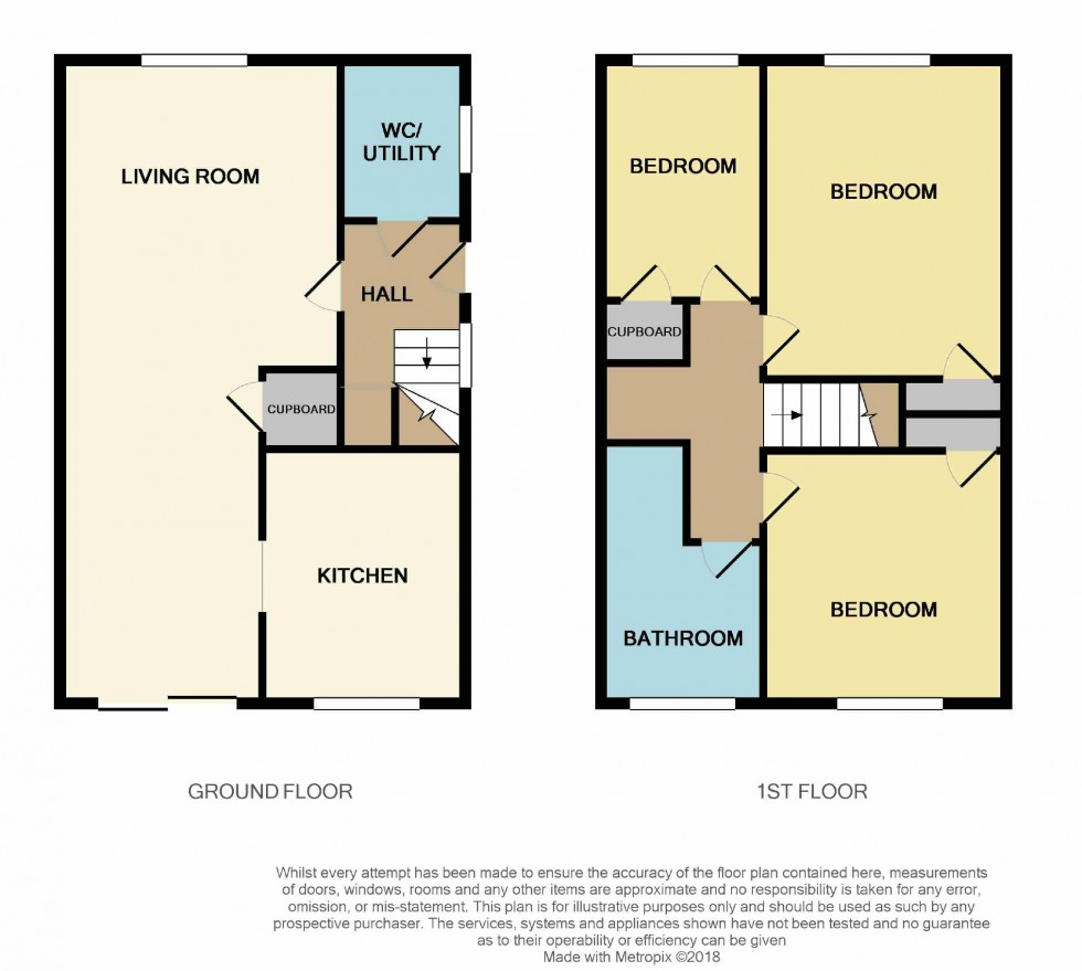 Floorplan for Marlow Drive, St Leonards-on-sea, East Sussex