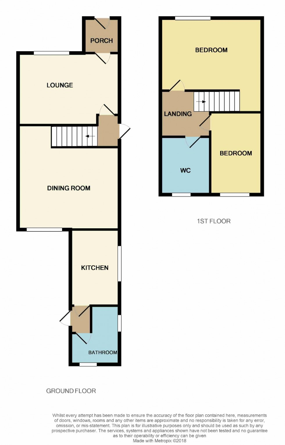 Floorplan for Winchelsea Lane, Hastings, East Sussex