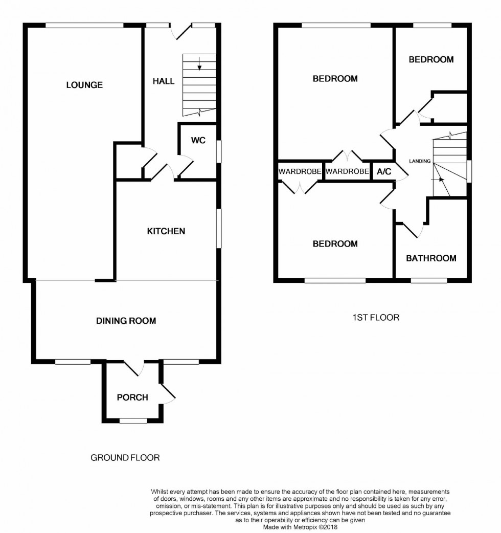 Floorplan for Heathlands, Westfield, East Sussex